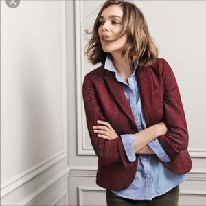 Boden Elizabeth British Tweed by Moon Blazer